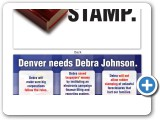 Debra Johnson For Denver: No ones rubber stamp