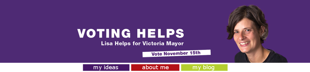 Lisa Helps for Victoria Mayor 2014