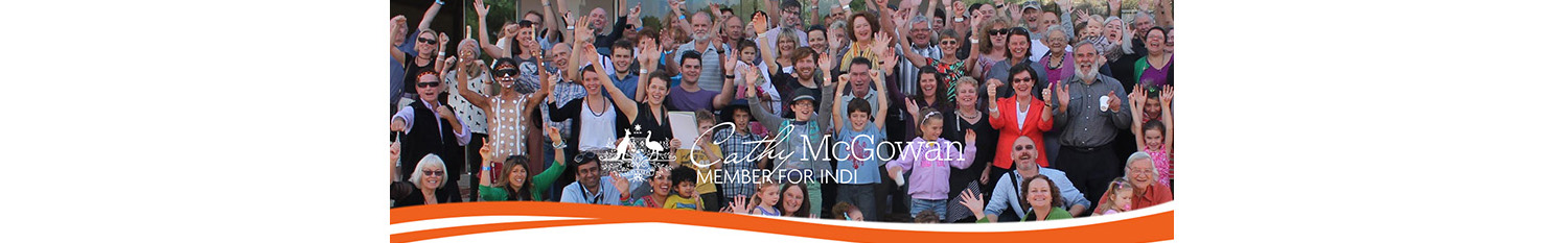 Cathy McGowan: Member for Indi