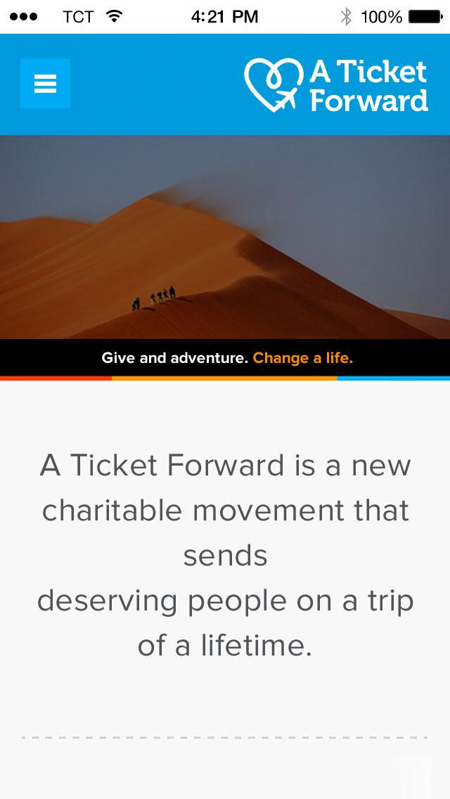 A Ticket Forward