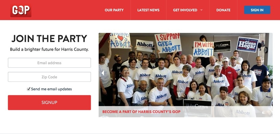 The Harris County Republican Party