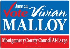 Vivian Malloy For Montgomery County Council At-Large