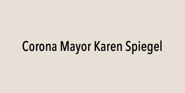 Corona Mayor Karen Spiegel endorses Eric Linder