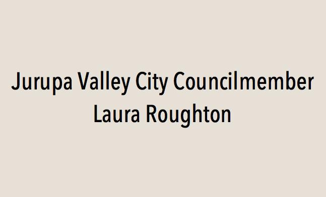 Jurupa Valley City Councilmember Laura Roughton endorses Eric Linder