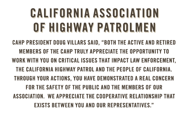 California Association of Highway Patrolmen endorses Eric Linder