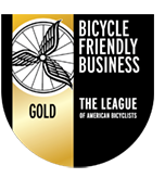 Bicycle Friendly Business Gold Certification