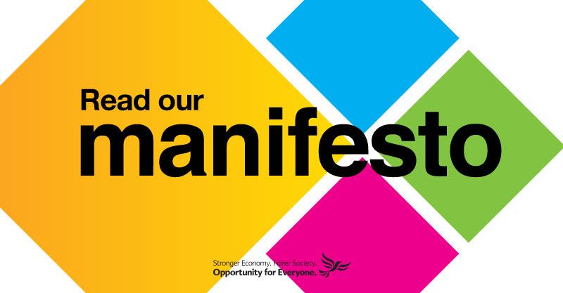 Lib Dem Manifesto