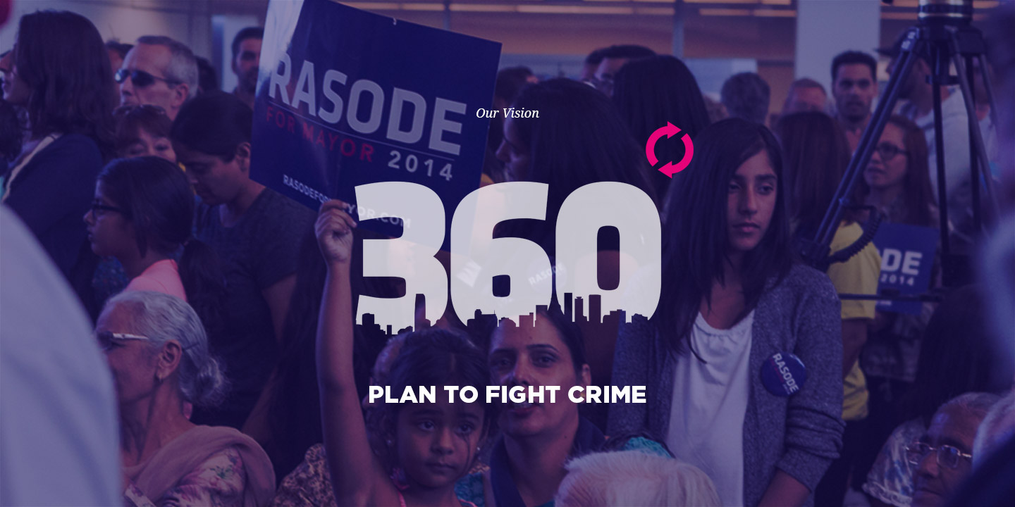 360 Degree Plan to Fight Crime