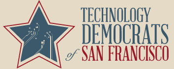 SF Tech Dems logo