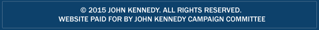 political advertisement paid for and approved by john kennedy