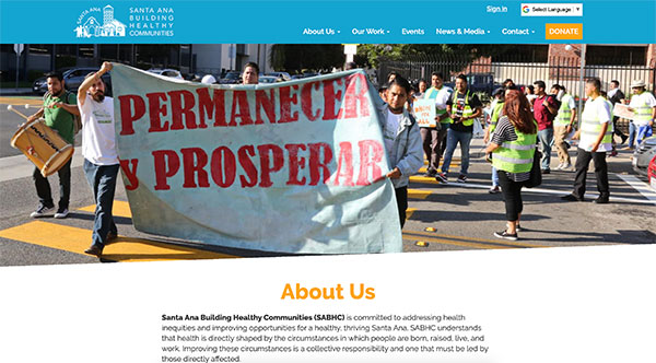Santa Ana Building Healthy Communities