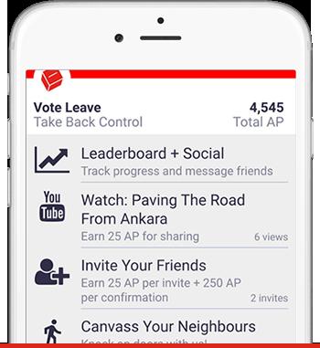 Vote Leave App