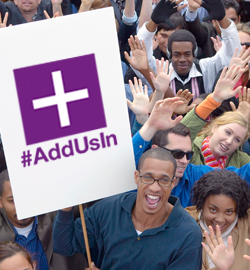 #AddUsIn Action Center