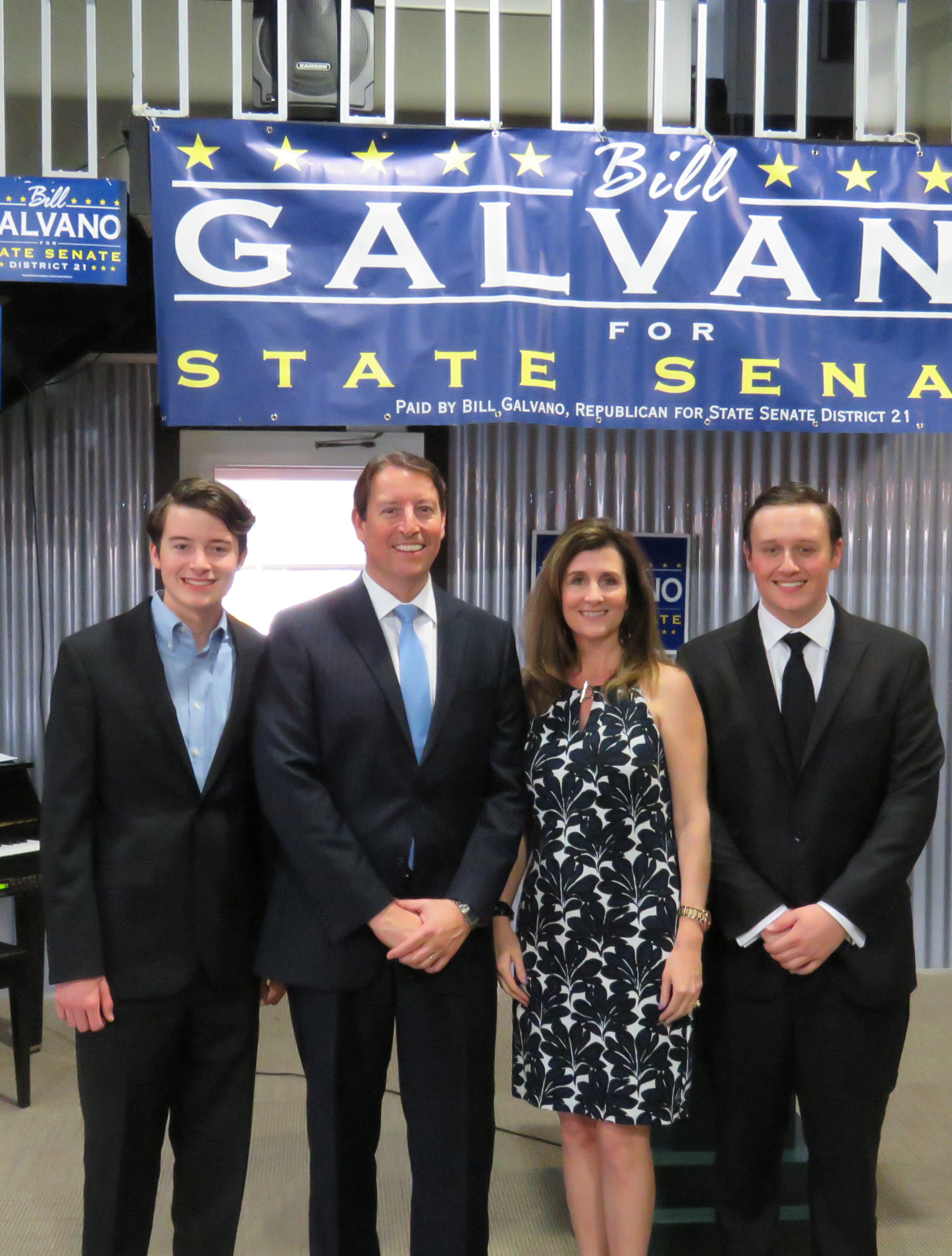 Galvano and Wife