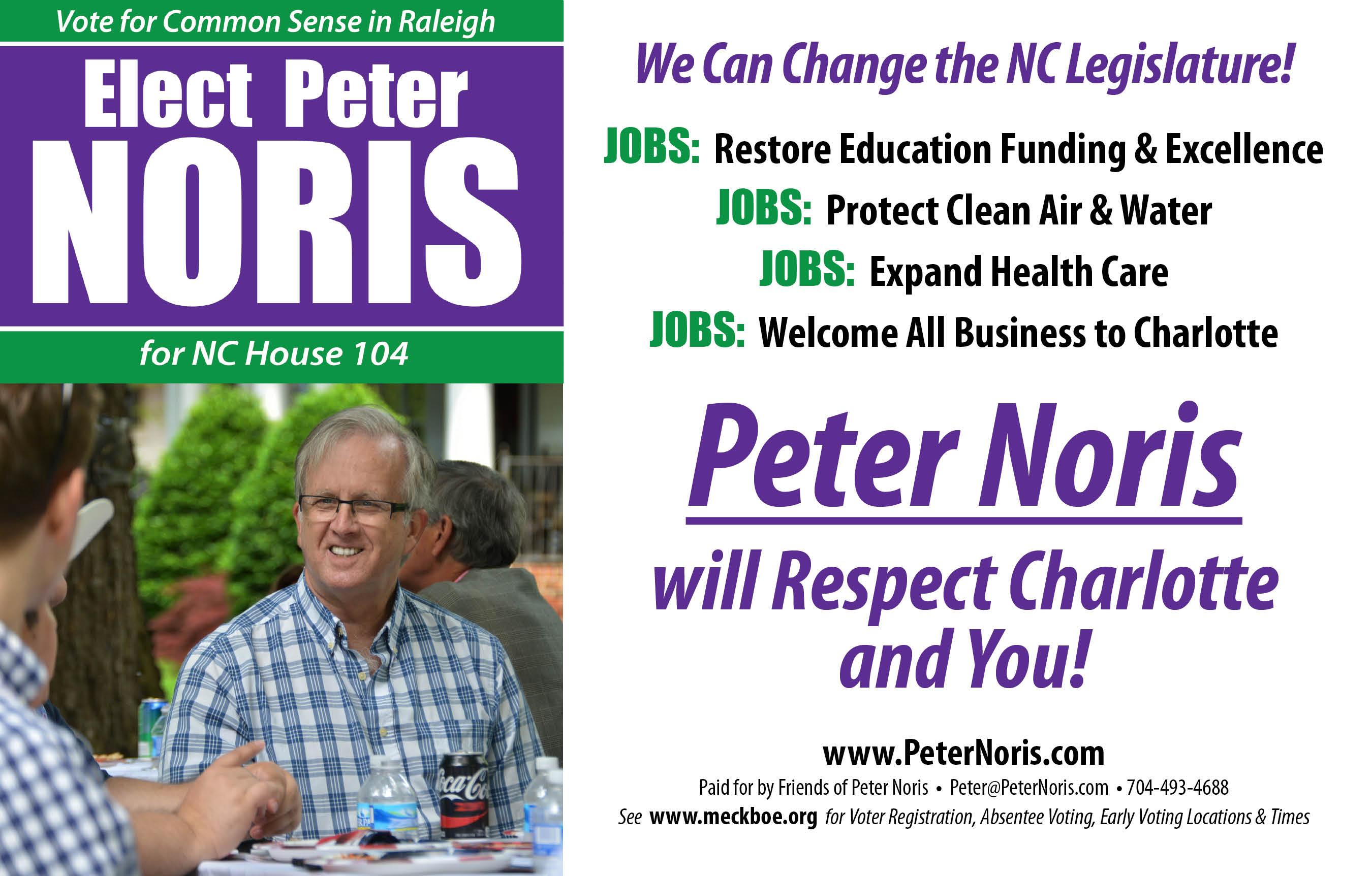 Vote Peter Noris