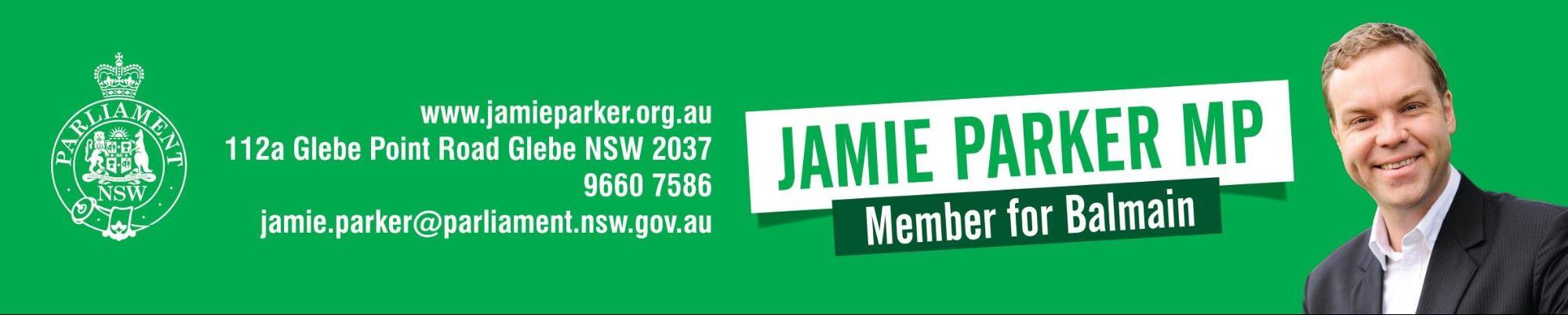 Press Release Header - Jamie Parker MP