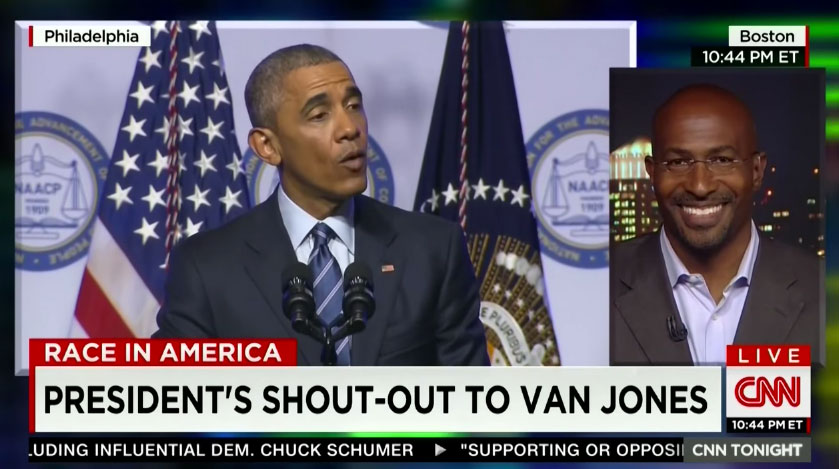 Obama Sends a Shout-Out