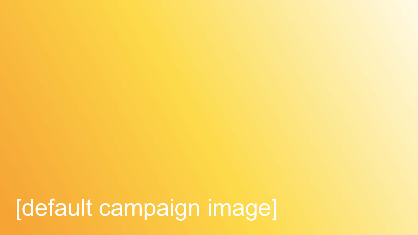 Sample Campaign 3 (Donation)