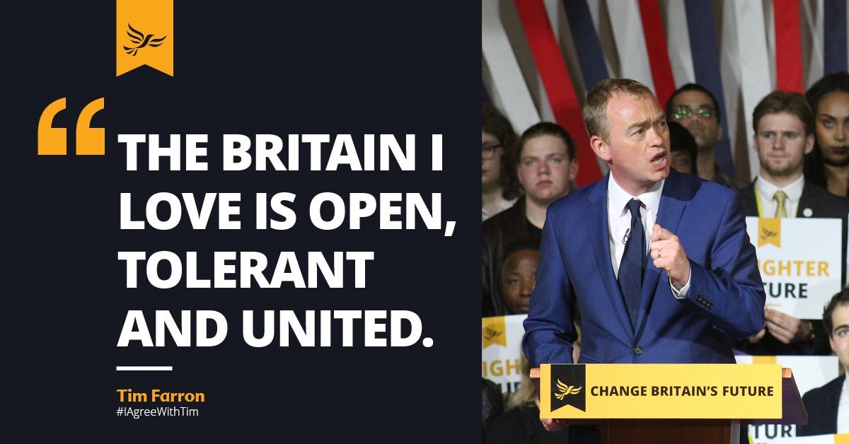 I'm voting Liberal Democrat