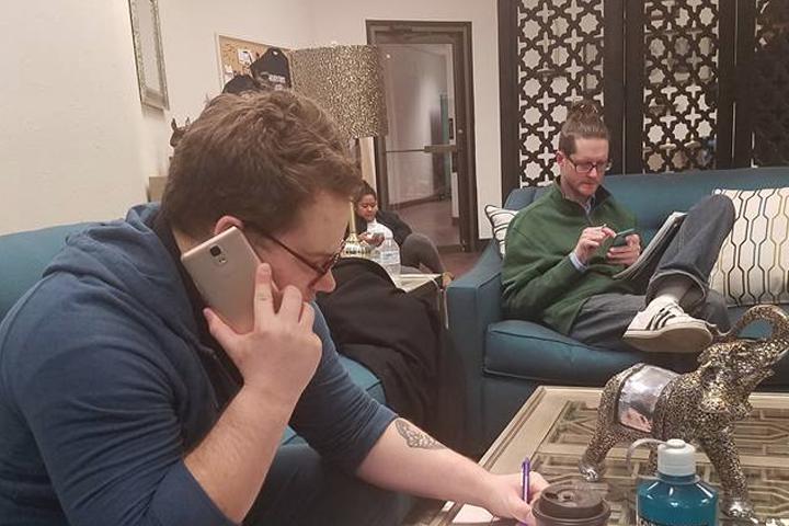 Phonebank with #TeamNekima