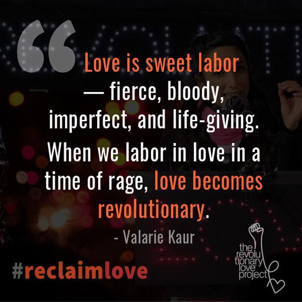 Rl Love Becomes Revolutionary
