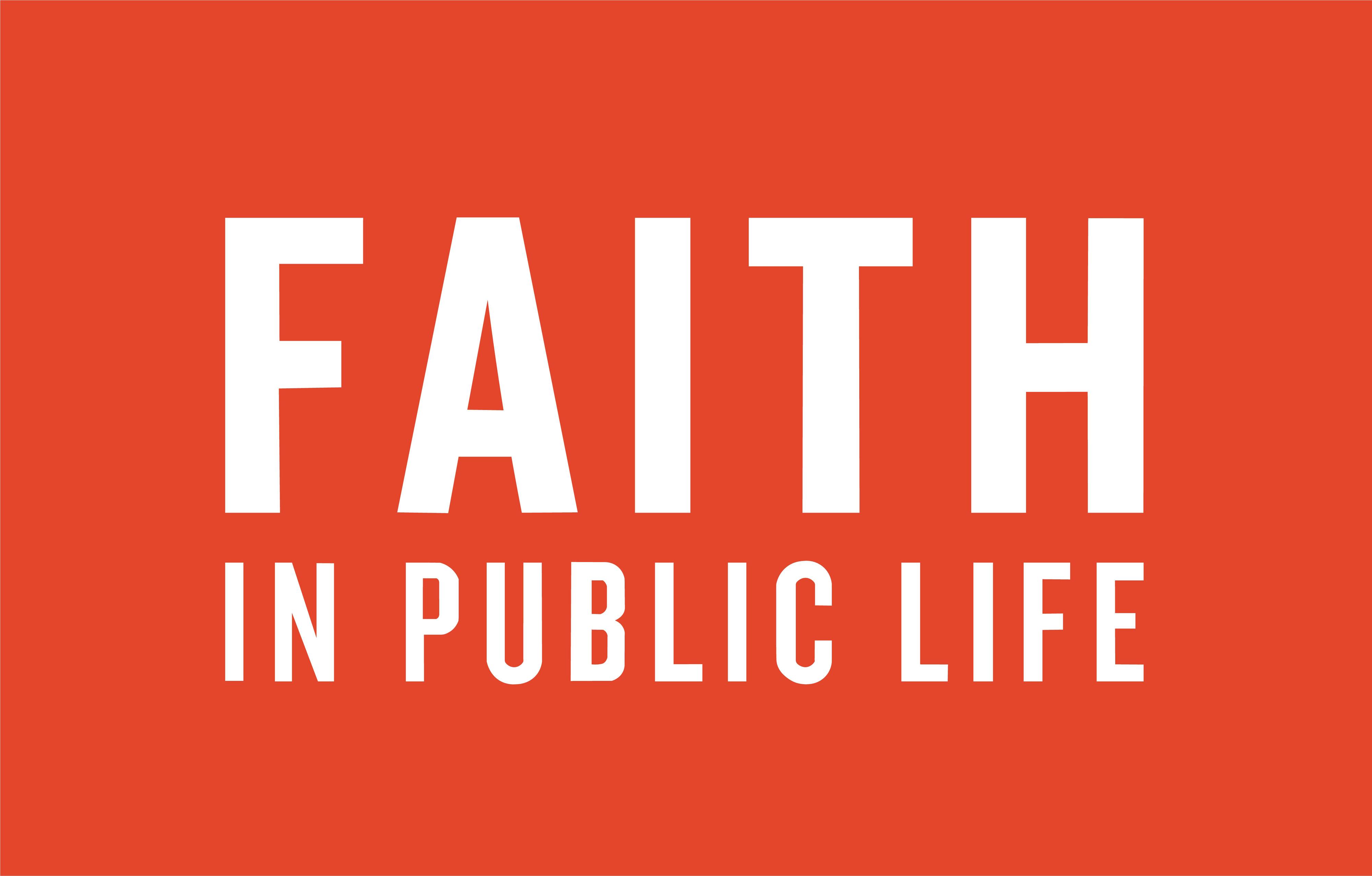 Faith In Public Life