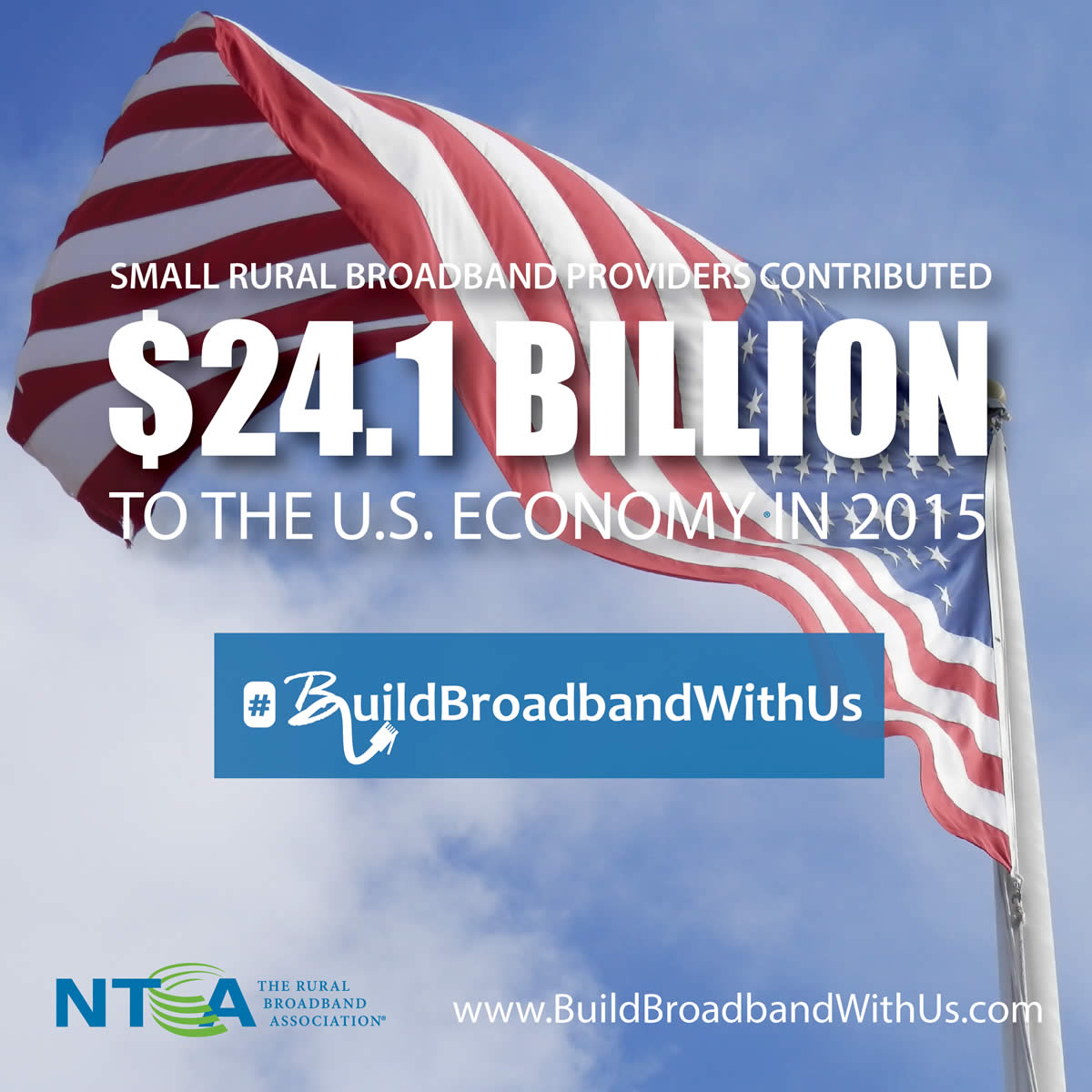 Small rural broadband providers contributed $24.1 Billion to the U.S. economy in 2015