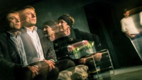 Hana Maciuchová a Petr Stach v představení 4 000 dnů.
