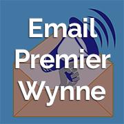Email Premier Wynne