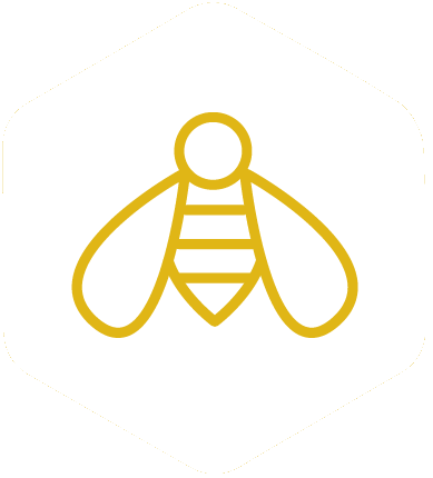 The Gather By bee logo