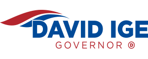 David Ige for Governor Logo