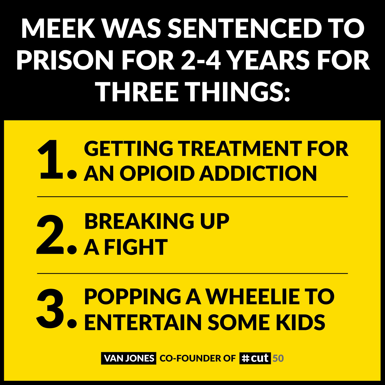 Meek Was Sentanced For