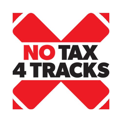 No Tax 4 Tracks Logo