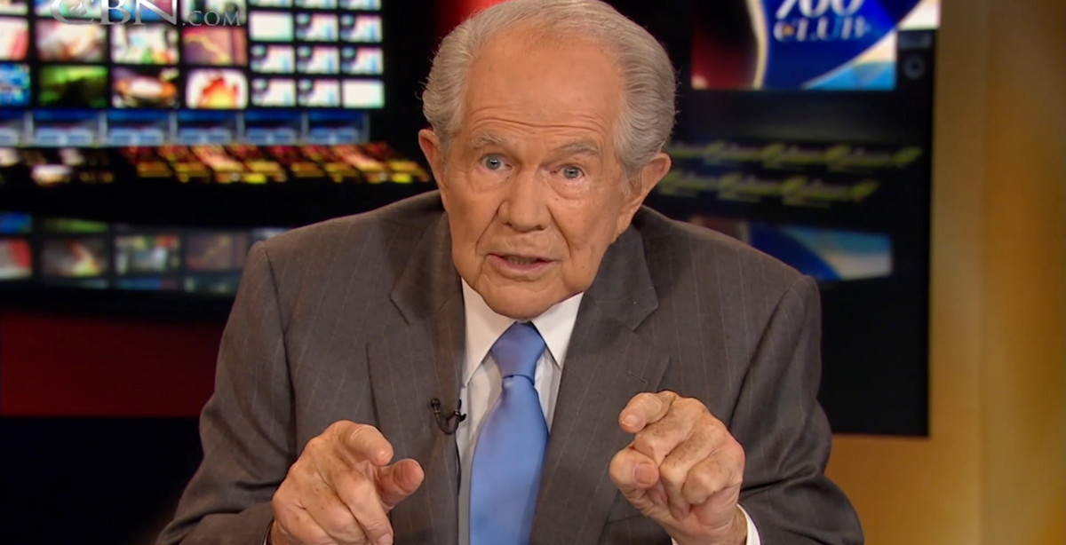 from Clay pat robertson gay people