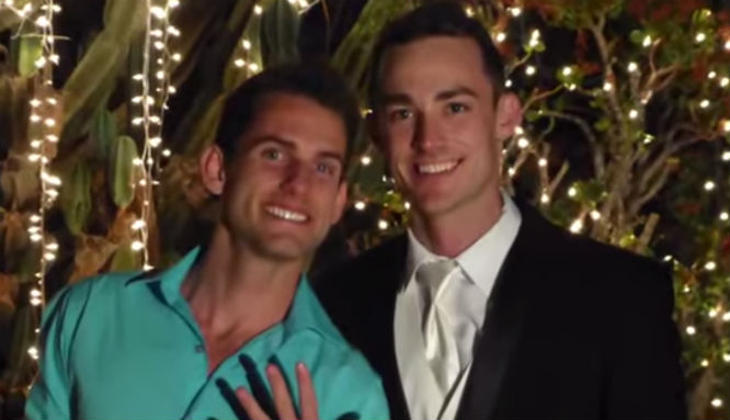 watch gay couple shares their instagram marriage proposal the twenty six year old ryan chanced upon a photo of twenty nine year old scott as he was browsing through instagram photos the two california men took the