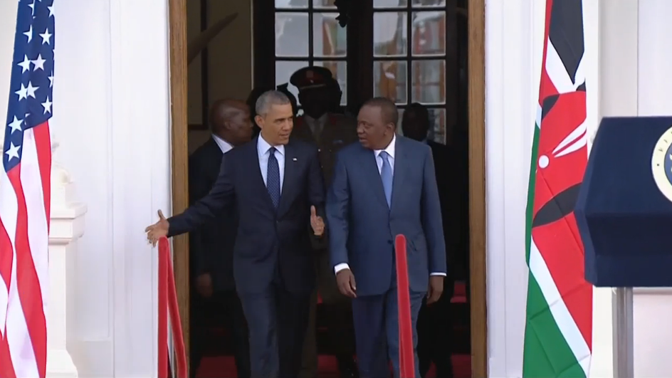 BREAKING: Despite Threats, President Obama Makes A Case For Gay Rights In Kenya