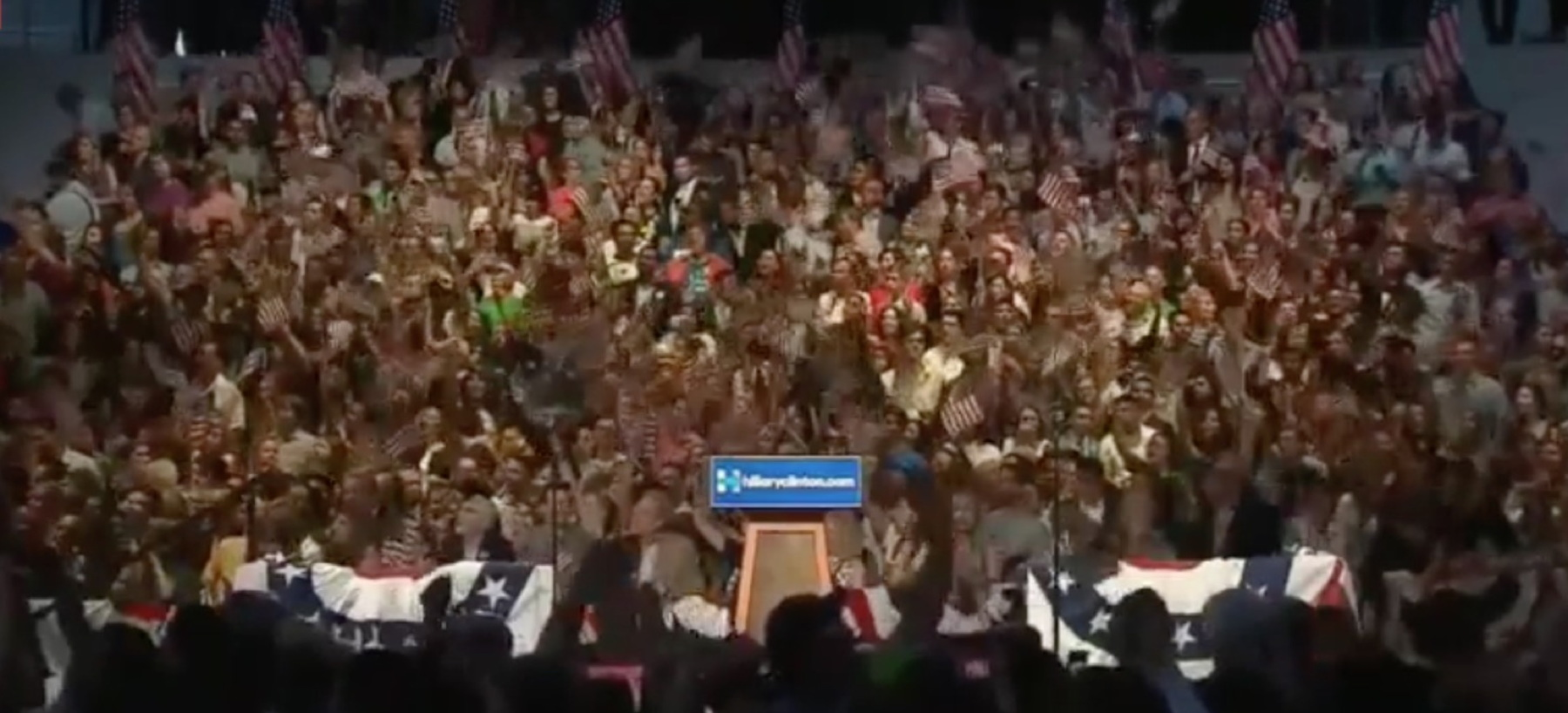 Watch Live Now Hillary Clinton Delivers Historic Speech