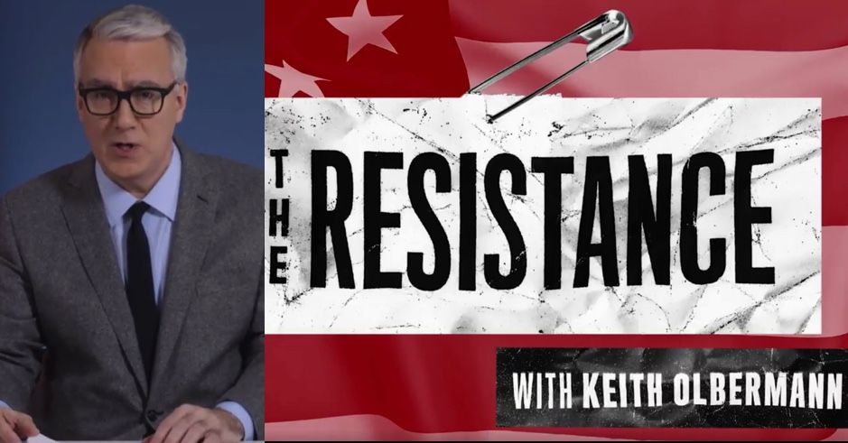 Image result for keith olbermann the resistance