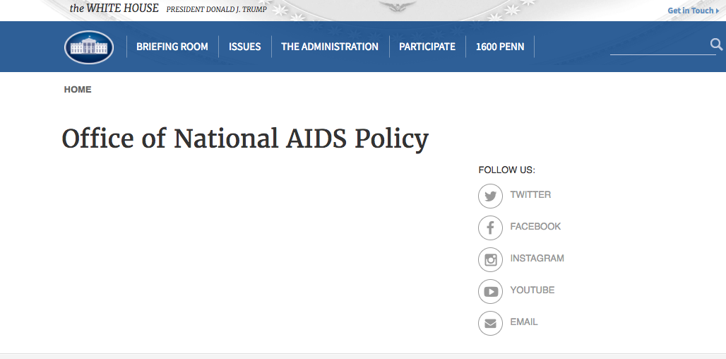 the Presidential Advisory Council on HIV/AIDS (PACHA)