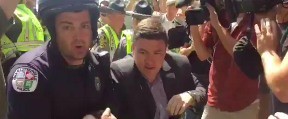 WATCH: White Supremacist March Organizer Literally Chased Through Charlottesville Streets