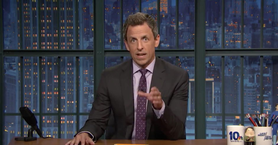 'He Is Not a President': Seth Meyers Scorches Trump's Response to Charlottesville
