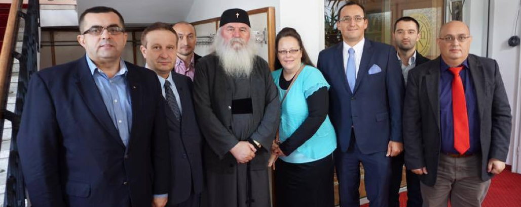 Two Years After Trying to Stop Same-Sex Couples From Marrying in Kentucky Kim Davis Is Trying to Do the Same in Romania