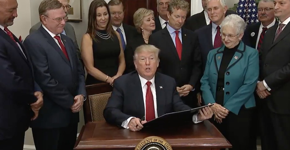 Trump Just Signed an Executive Order That Will Skyrocket Premiums and All but Kill ObamaCare Exchanges