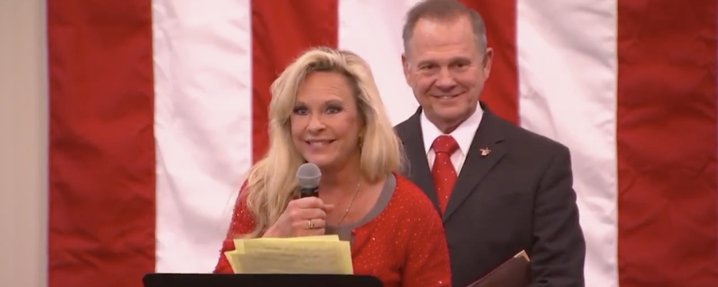 Kayla Moore: Roy and I Can't Be Anti-Semitic Because 'One of Our Attorneys Is a Jew' (Video)