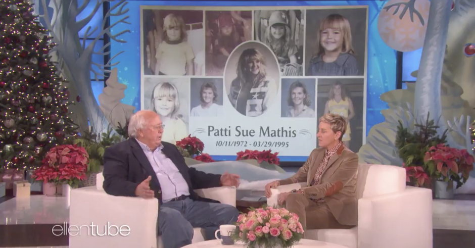 Watch: Ellen Talks With Alabama Dad Who Protested Roy Moore for Calling His Lesbian Daughter Who Died by Suicide a Pervert