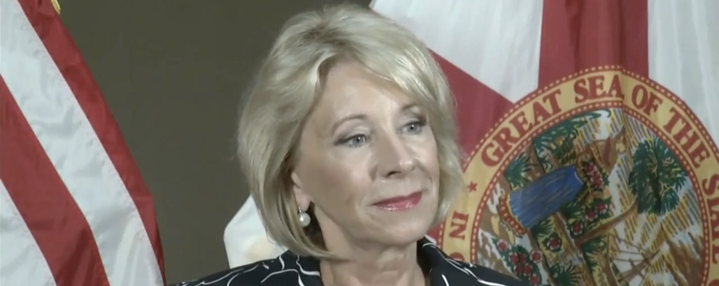 Betsy DeVos Insults Parkland Student Survivors by Visiting Their School, Refusing to Talk With Them About Arming Teachers