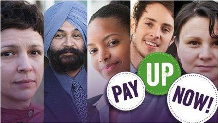 Image result for unison pay up now campaign