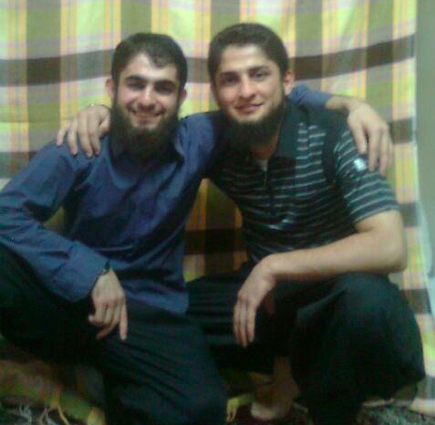 Shahram is on the left and Bahram who was executed is on the right