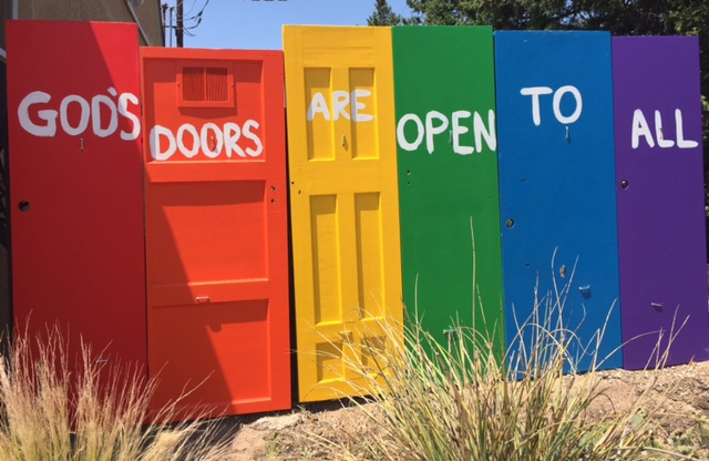 Open Door Welcome : God s open doors in albuquerque prominently proclaim