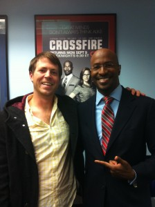 Van Jones and Patrick Tutwiler
